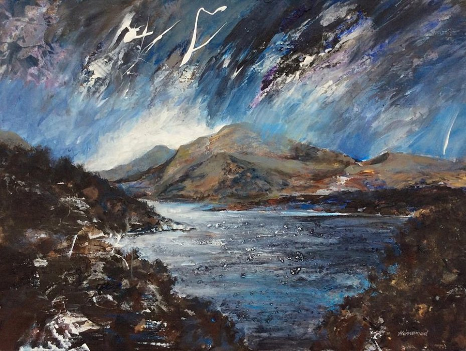 Lightning Over Llyn Padarn