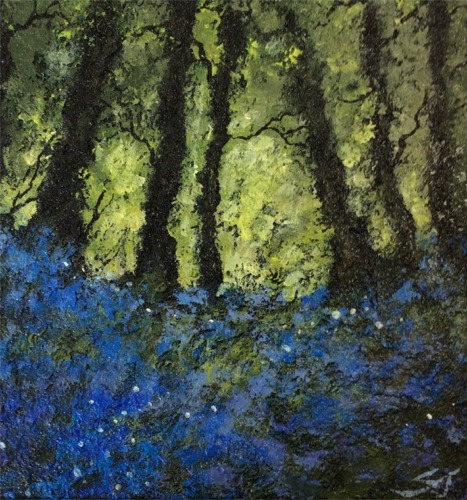 Bluebell Woods - Oil
