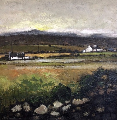 Mynydd Bodafon - Original Oil Painting
